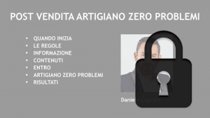 Slide Artigiano Zero Problemi - post-vendita manutenzione infissi