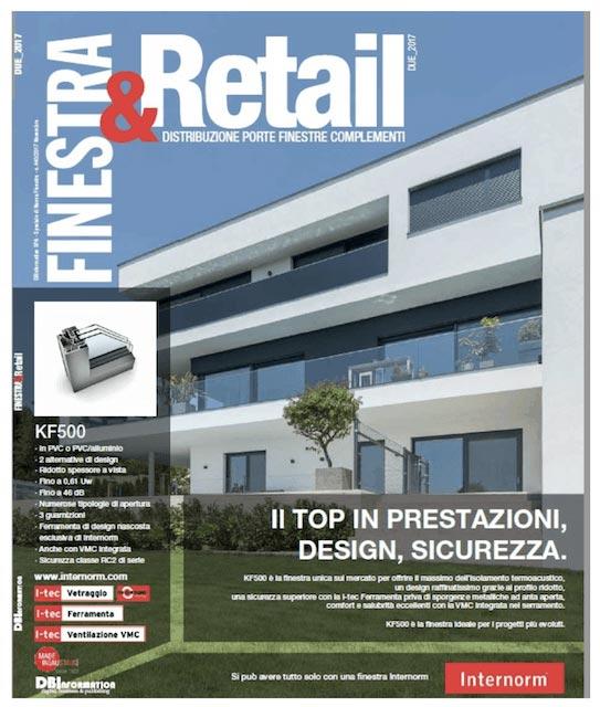 Copertina rivista Finestra&Retail - Manutenzione In Abbonamento