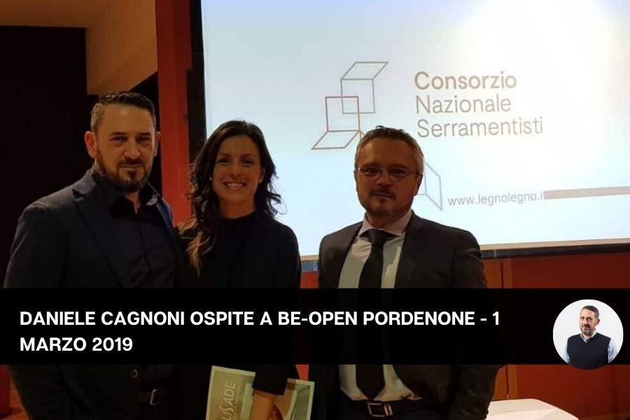 beopen Pordenone serramenti Daniele Cagnoni artigiano post vendita customer care