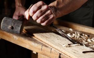 Un Artigiano Ricco al lavoro