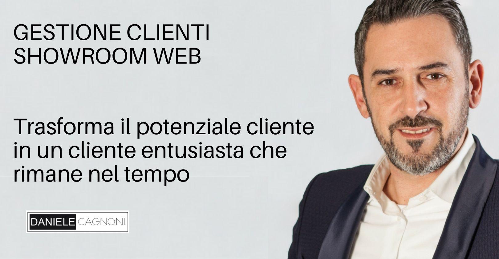 Shworoom web come gestire clienti online